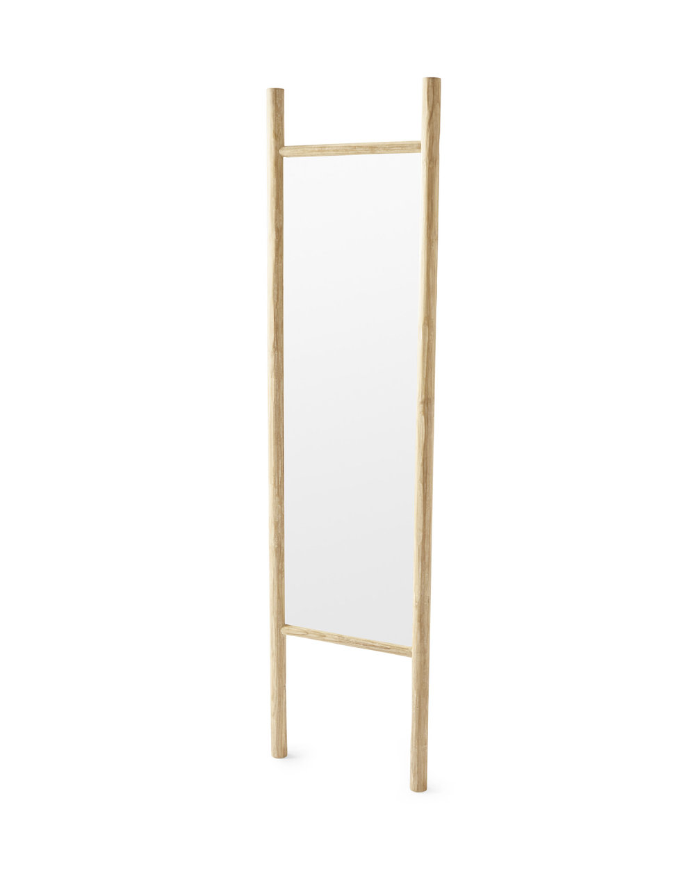 Teak Ladder Mirror