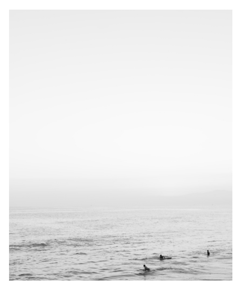 Malibu Surfers Photography Print