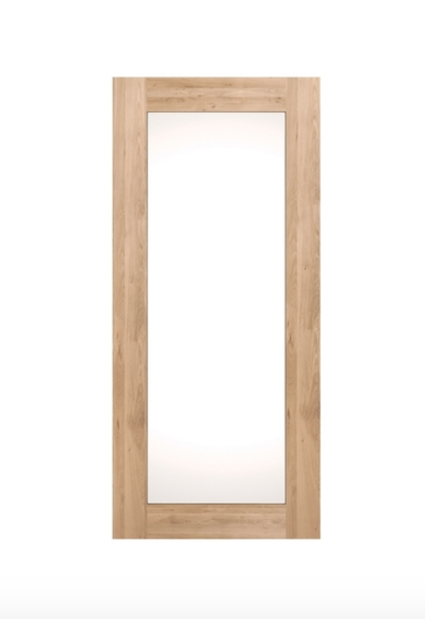 Full Length Oak Mirror