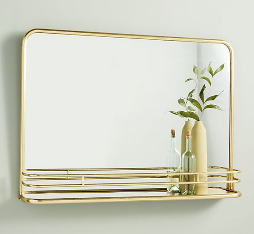 Georgie Shelved Mirror