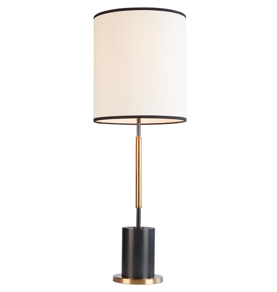 Cylinder Tall Table Lamp