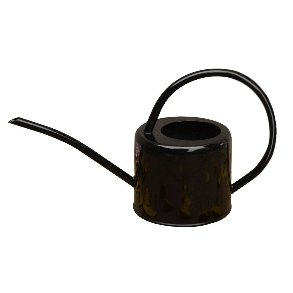 Black Retro Long Spout Watering Can