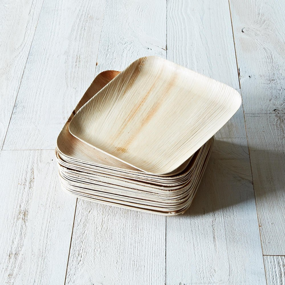 Palm Leaves Compostable Dinnerware (Set of 25)