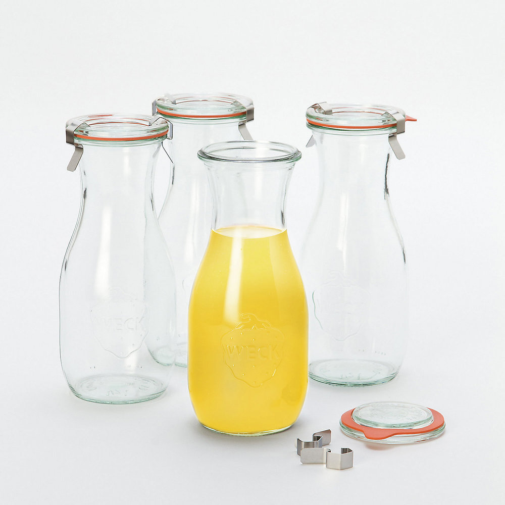 0.5 L Weck Juice Jar Set