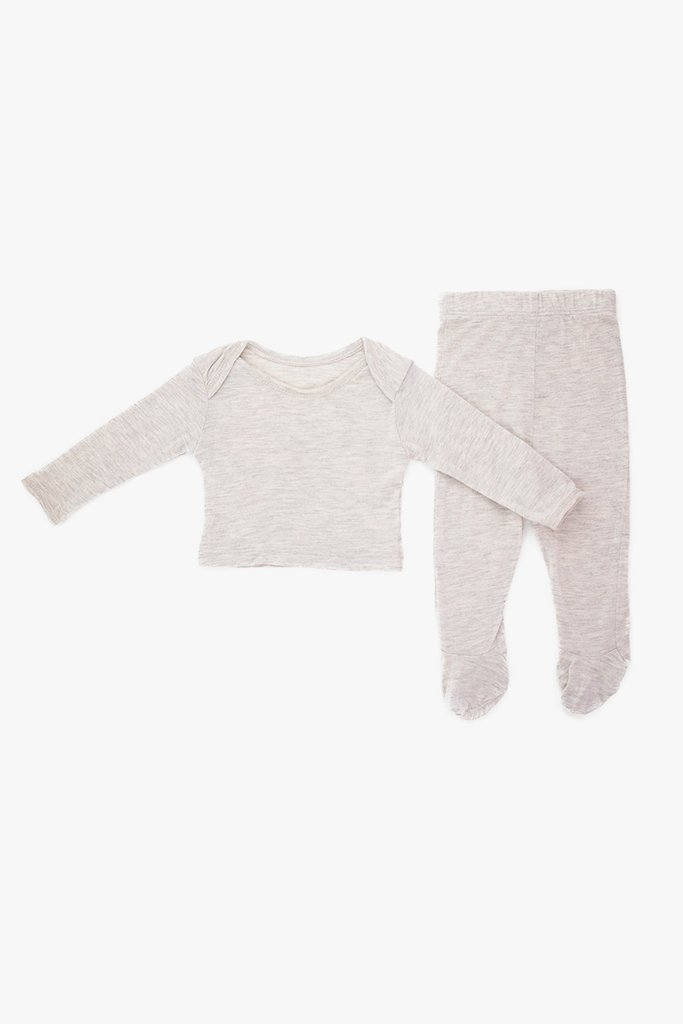 Two Piece Cozy Set Oatmeal