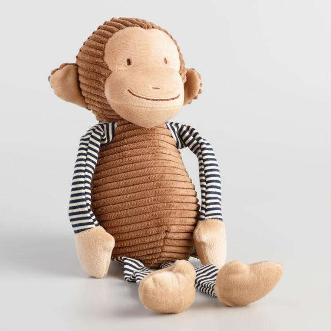 Plush Corduroy Monkey