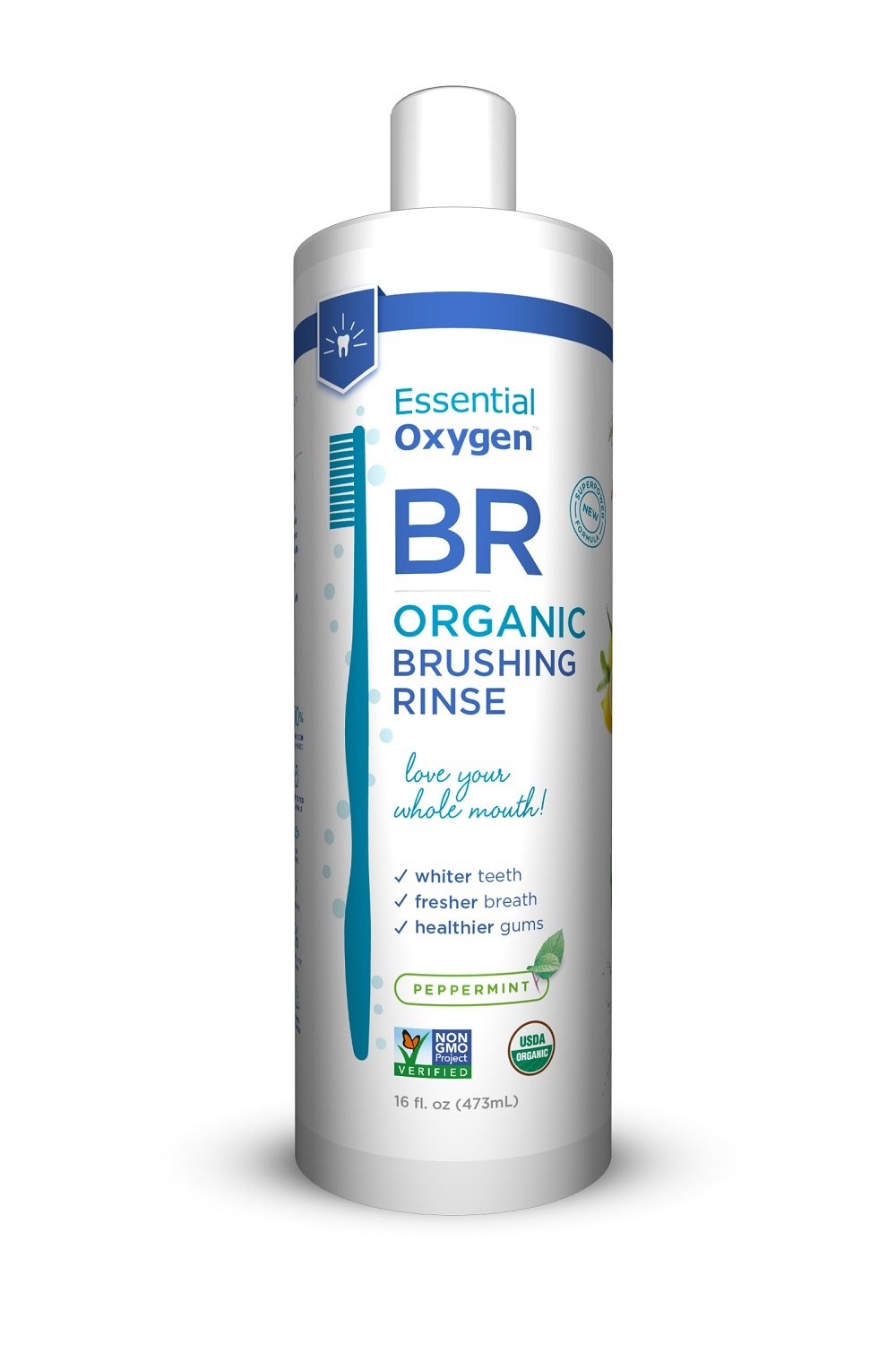 Essential Oxygen Organic Brushing Rinse Toothpaste