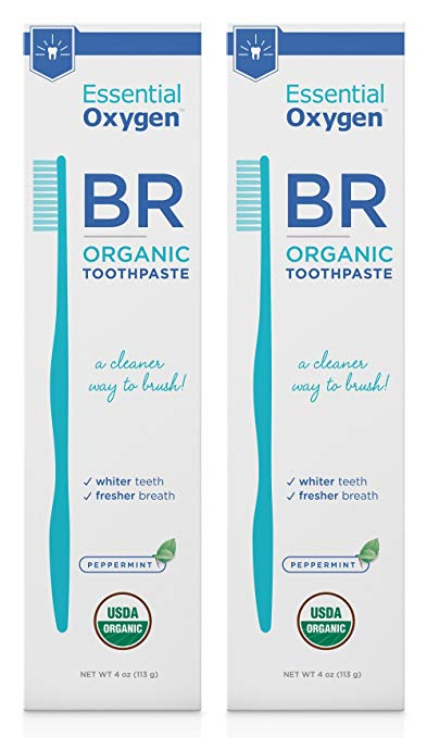 Essential Oxygen Organic Toothpaste Peppermint