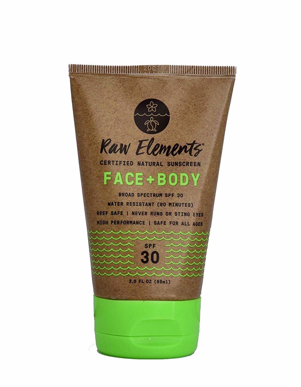 Organic Natural Sunscreen Face & Body SPF 30