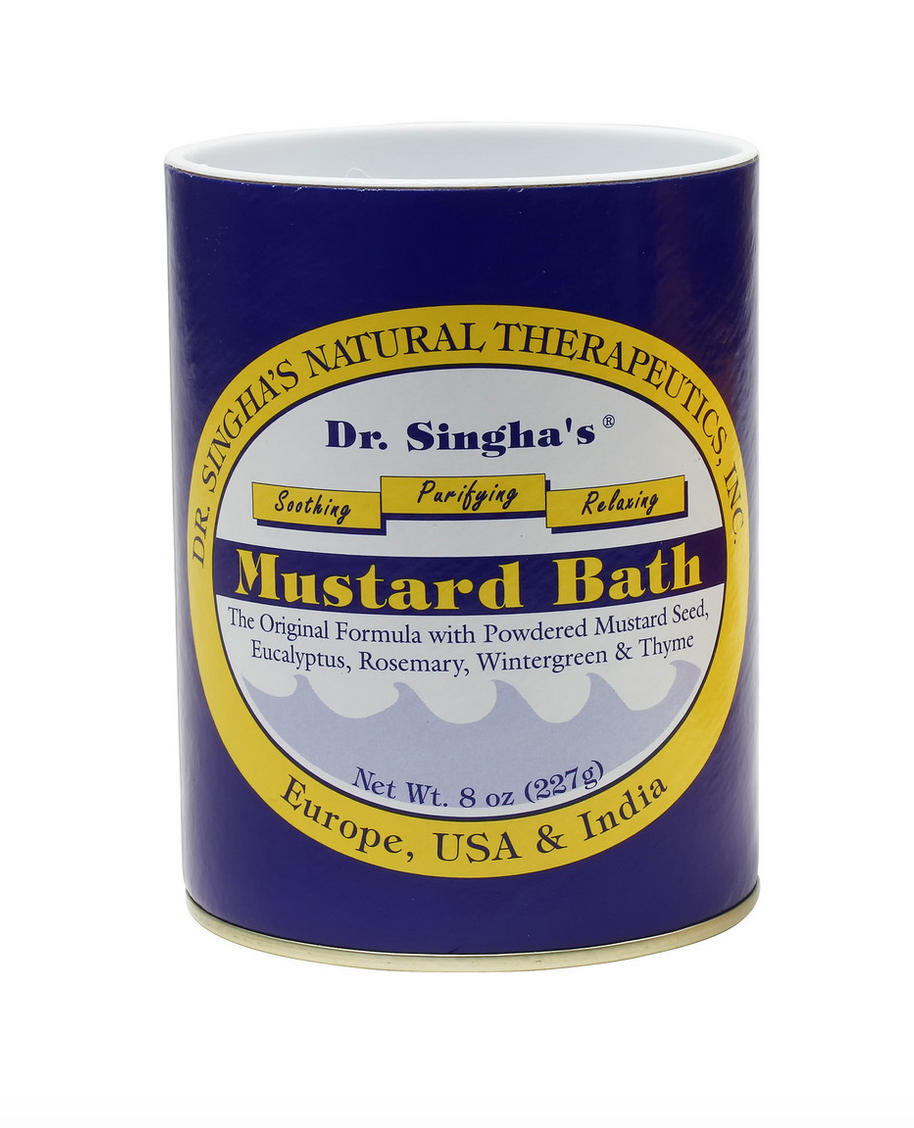 Dr. Singha's Mustard Bath Therapeutic Bath Salts
