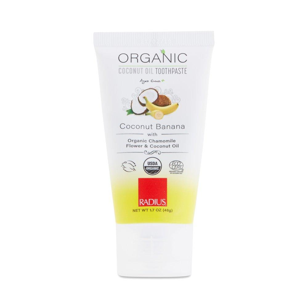 Organic Children's Coconut Banana Toothpaste