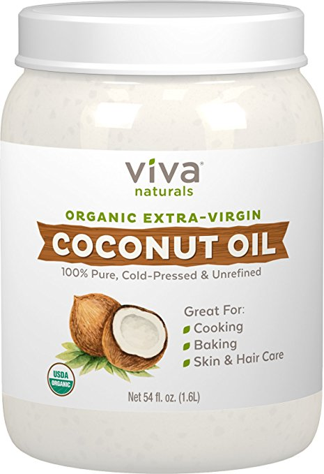 Natural Organic Extra Virgin Coconut Oil