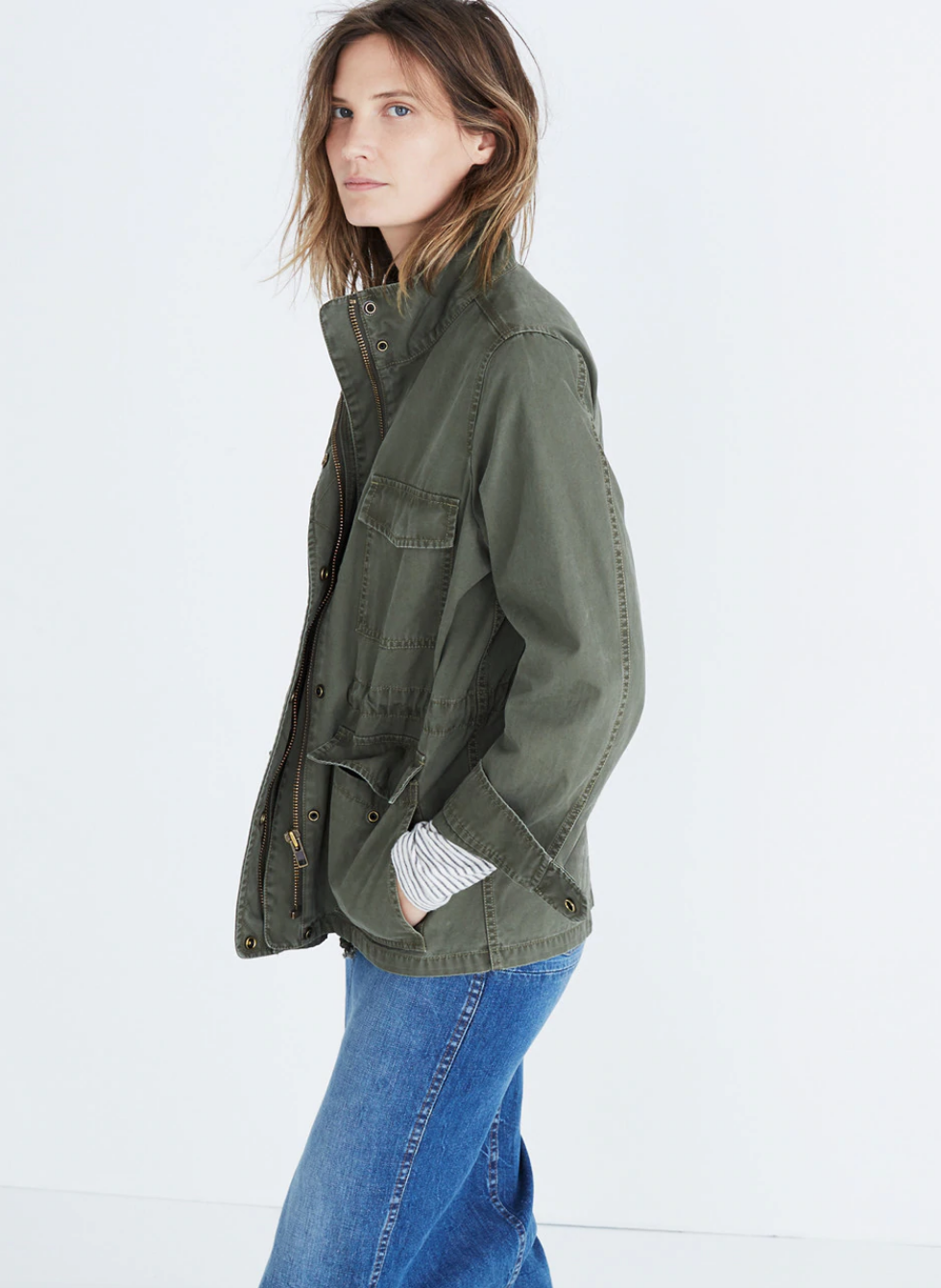 Foilage Green Surplus Jacket