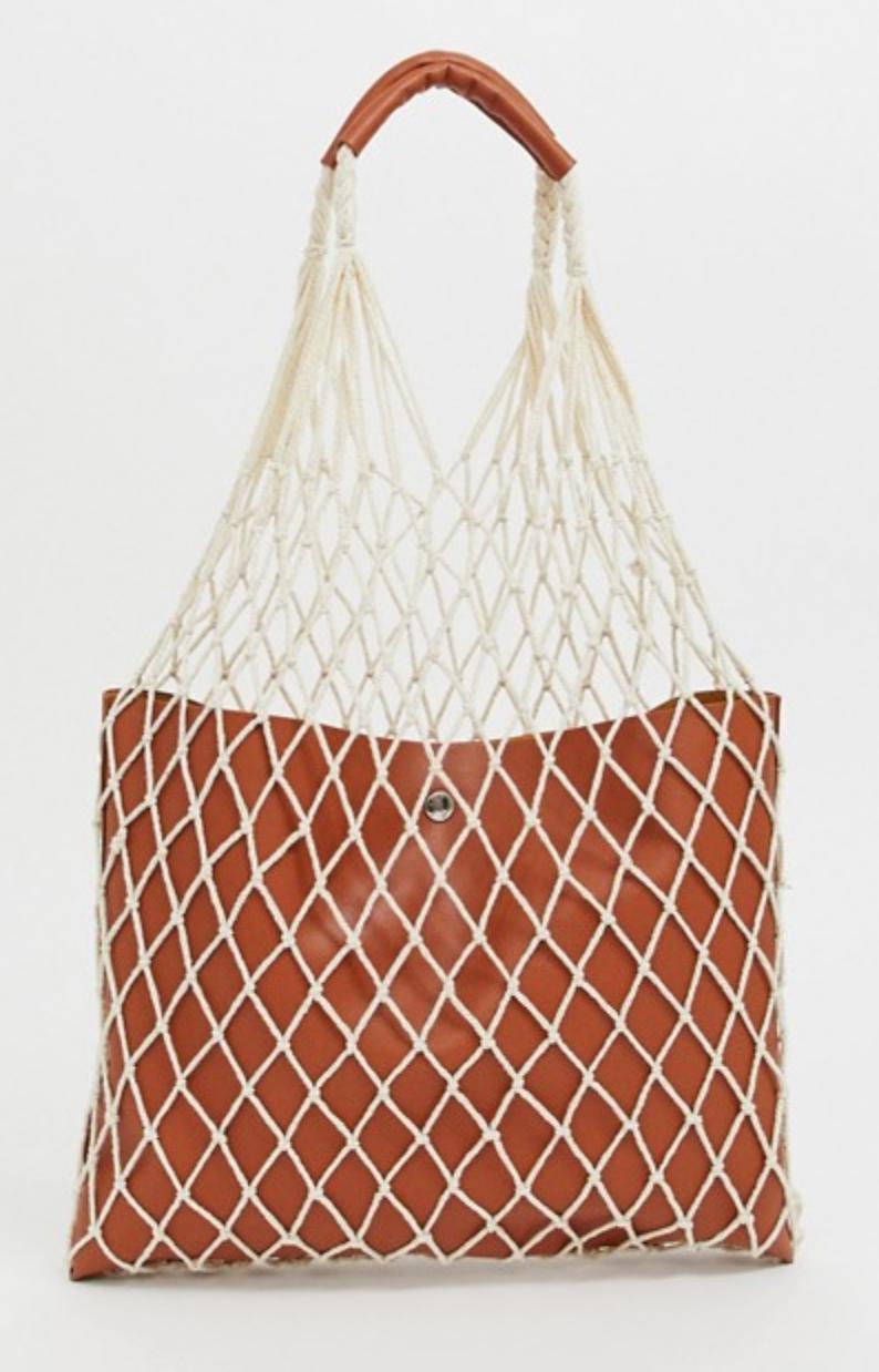 Reclaimed Vintage Inspired Net Shopper