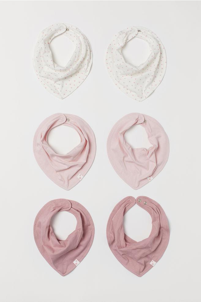 6-Pack Triangular Scarves