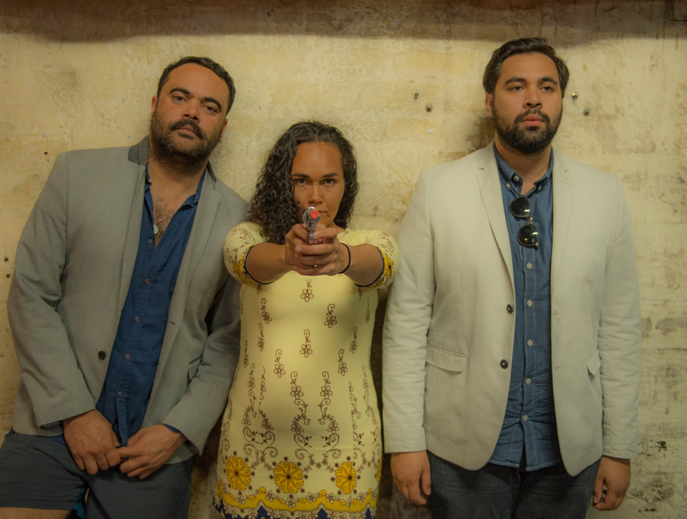 Colin Kinchela, Katie Beckett, Bjorn Stewart | Photo By Hayder Al Bdairi