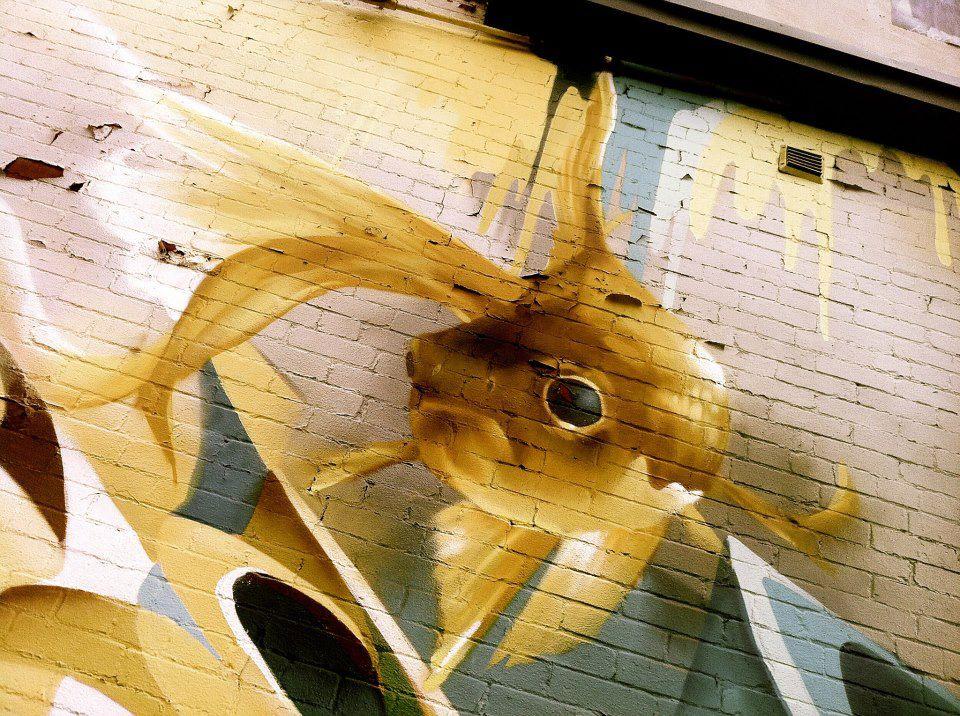graffiti gold