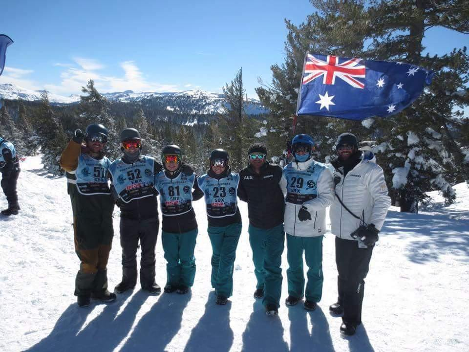 Sean Pollard australian adaptive snowboard team