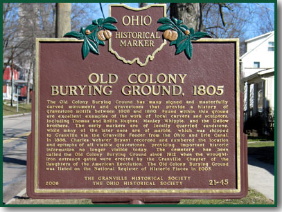 Old Colony Burying Ground