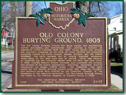 Old Colony Burying Ground