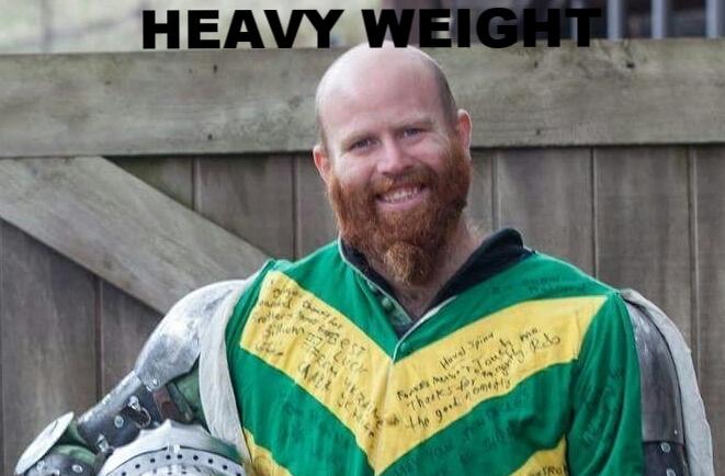 Chris Fogwill Heavy Weight Champion