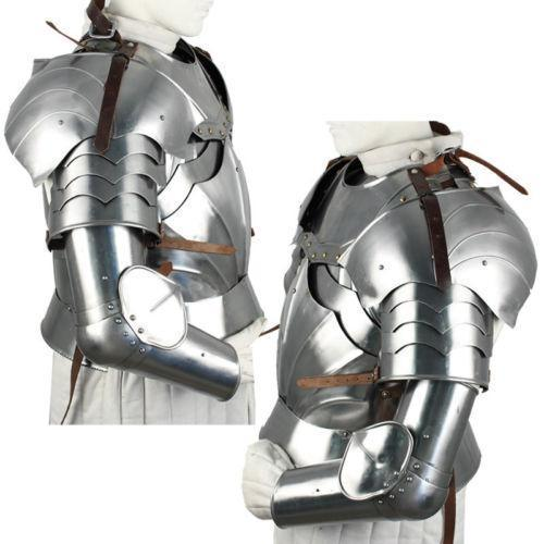 Where do you get Armour from? And how much does it cost?   There are many places where you can get Armour from. Most fighters get there Armour from Europe. The best way to start looking for your armour is to find the Armour style that you like and then contact Us and we will find you an Armour smith to help you. As for cost, this can range depending on what style of Armour you choose. It can range from two thousand dollars to eight thousand. But always check with your team captain before you purchase anything.