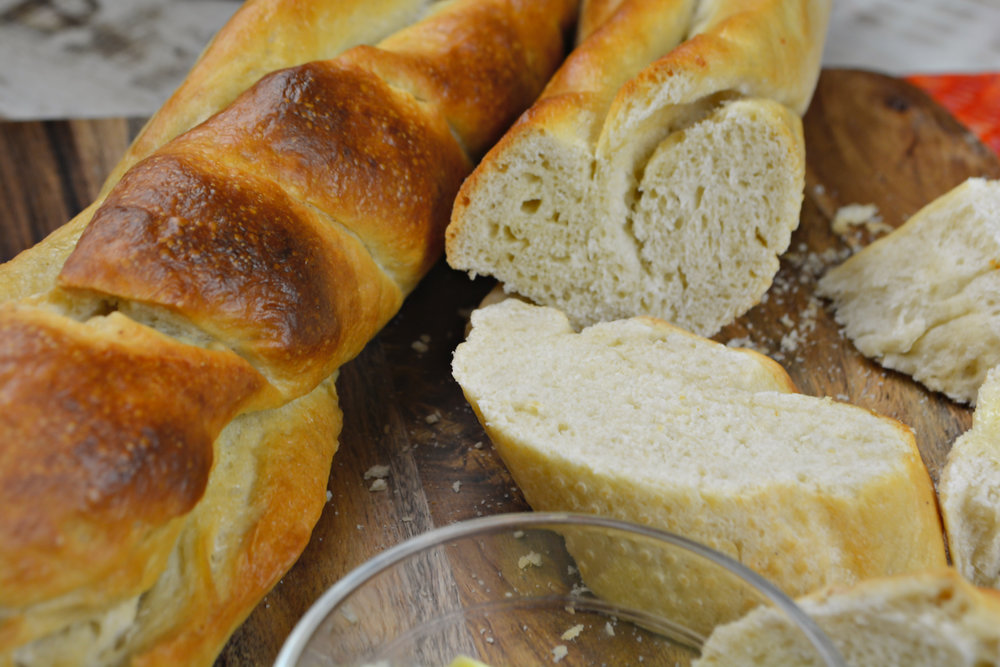 Crusty Baguettes Recipe - Easy — Pineapple & Chilli Food Blog