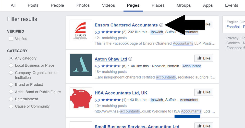 verify-facebook-tips-marketing-accountants-bookkeepers-uk