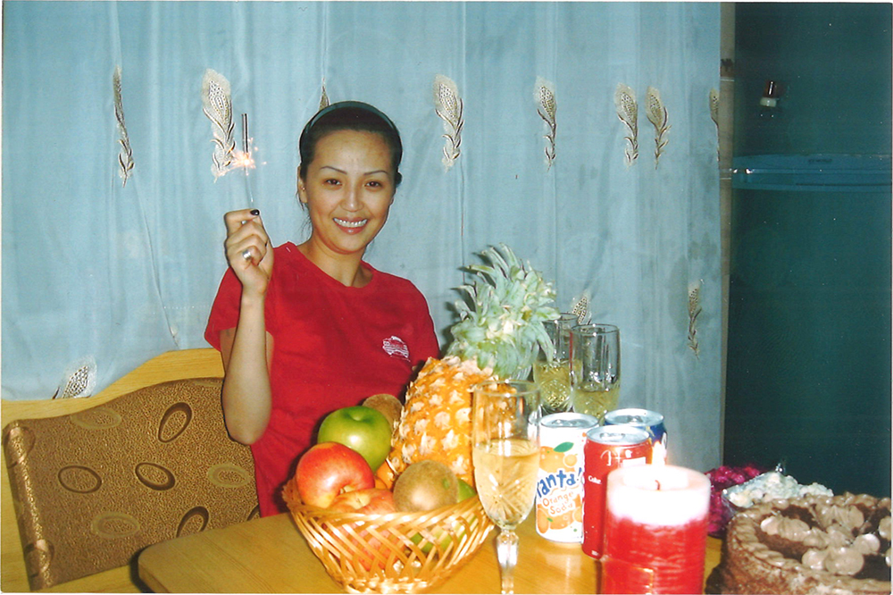 Altantuya at her 23rd birthday party in Ulaanbaatar, Mongolia. Photo courtesy of Shaariibuu Setev.
