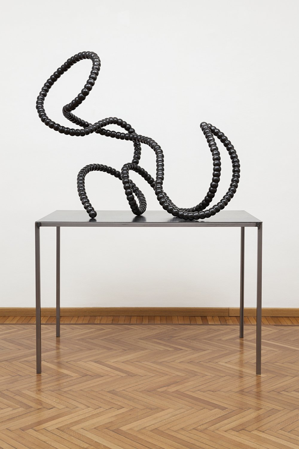 Heavy Intruder  (2015)  Vitreous Enamelled Steel  125 x 62 x 108 cm
