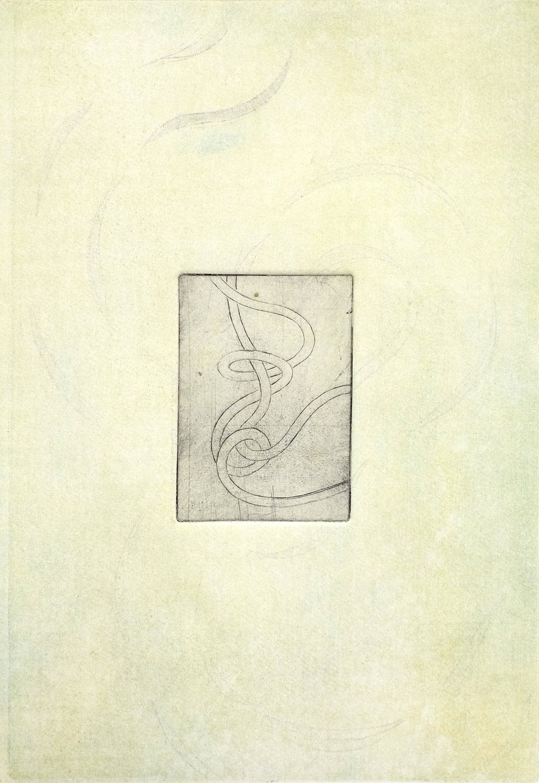 Untitled (2018)  Intaglio Print  35 x 25 cm