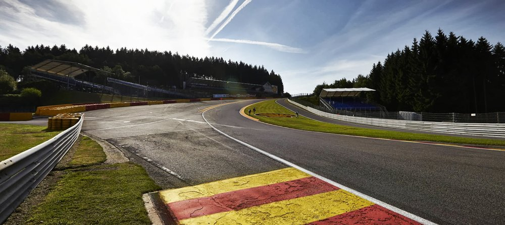 Eu Rouge at Spa is one of the most famous corners in world motorsport