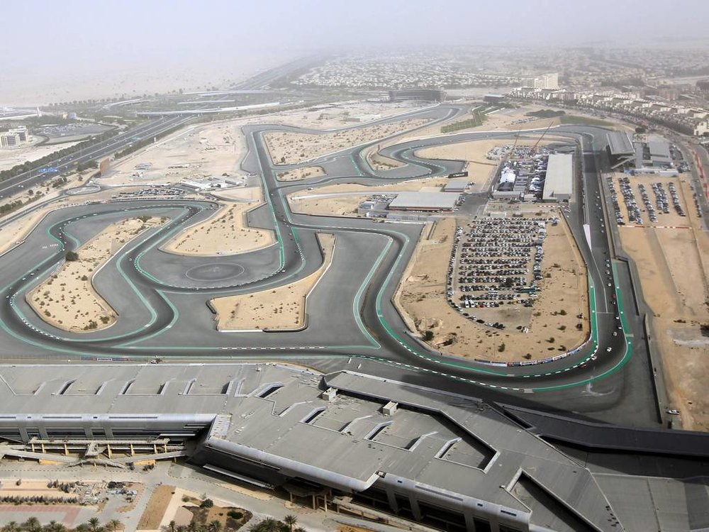 The Dubai Autodrome Circuit