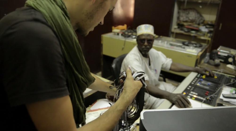 FilmstillS aus: A Story of Sahel Sounds (Florian Kläger, Markus Milcke, Tobias Adam, Deutschland/Niger/USA 2016)