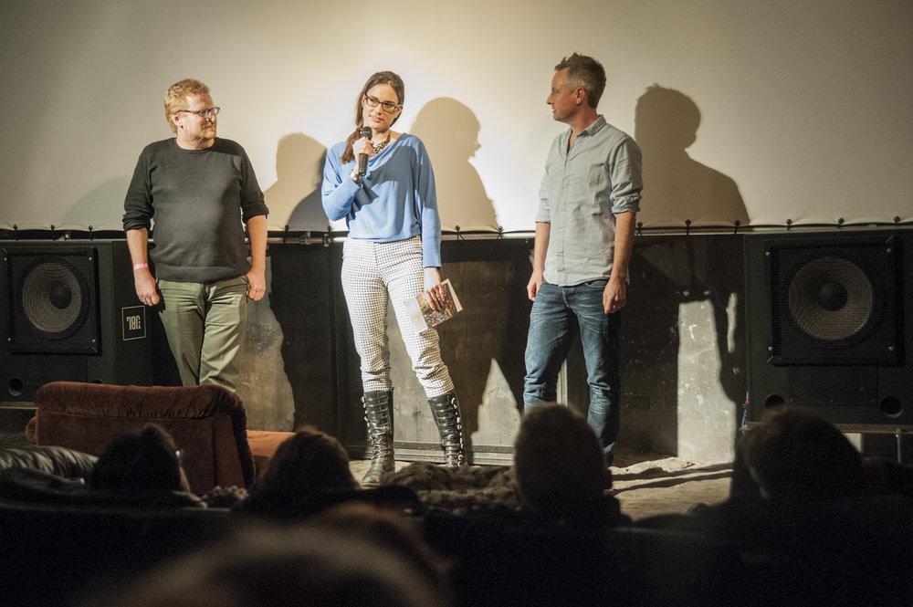 Daniel Künzler, Theresa Beyer, Thomas Burkhalter