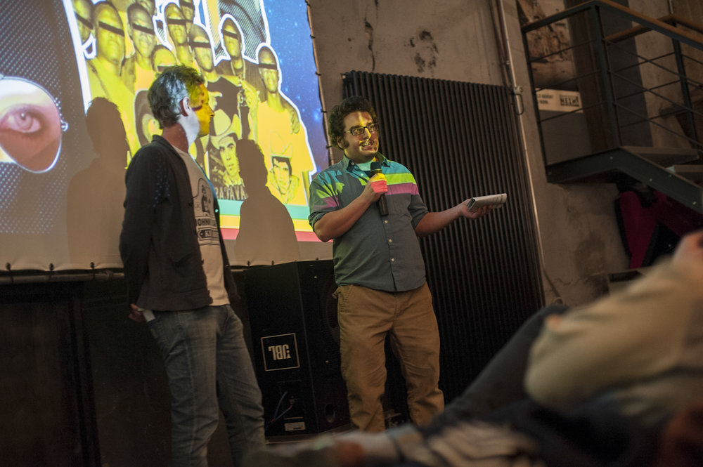Festival Hosts Thomas Burkhalter and Michael Spahr