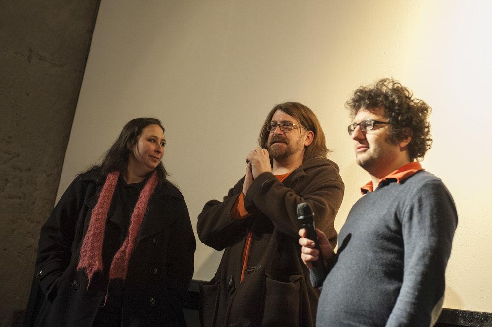 Audrey Ewell, Aaron Aites, Michael Spahr