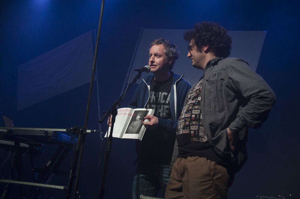 Festival Directors Thomas Burkhalter and Michael Spahr