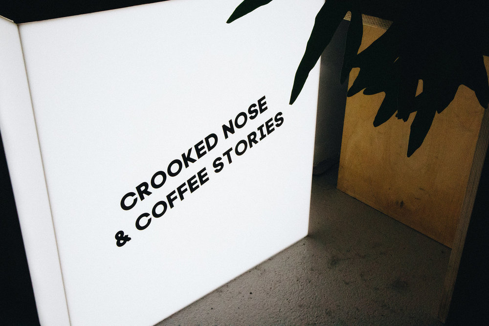 crooked nose and coffee stories