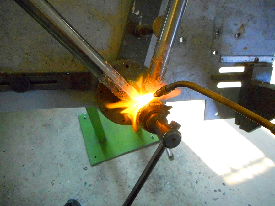Sonnet steel frame welding