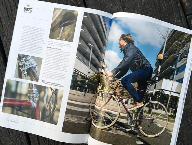 "Part 2 of our 4 page spread in this month's edition of Urban Cyclist magazine (June/July issue) Score:8/10 ""The performance is bang on"", ""Overall, the Sonnet off-the-peg artisan build is a success"" #roadbikes #steelisreal #steelframe #soulofcycling"