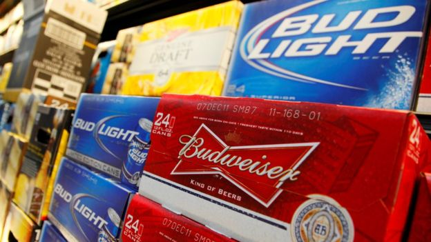 Making beer cans could become more pricey - and that cost could be pushed onto consumers.Image copyright REUTERS