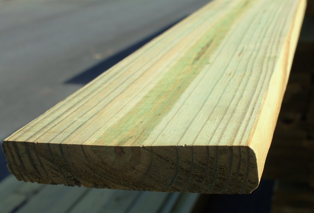 "TREATED DECKING    5/4 x 6"" x 6'  = $2.85   5/4 x 6"" x 8'  = $3.95   5/4 x 6"" x 10'  = $5.00   5/4 x 6"" x 12' = $6.00   5/4 x 6"" x 16' = $8.25"