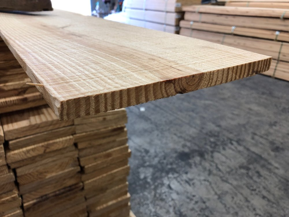 "1x10"" Rough Faced Boards   $0.70 Per Linear Foot"