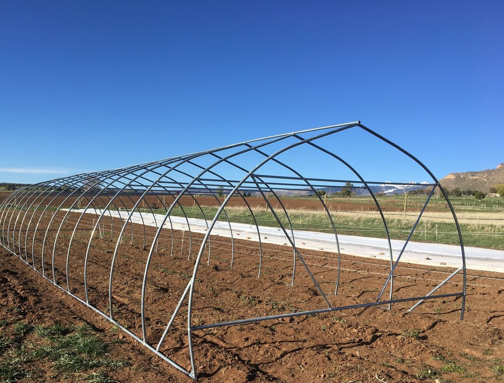 Moveable Tunnel #1 is halfway built!