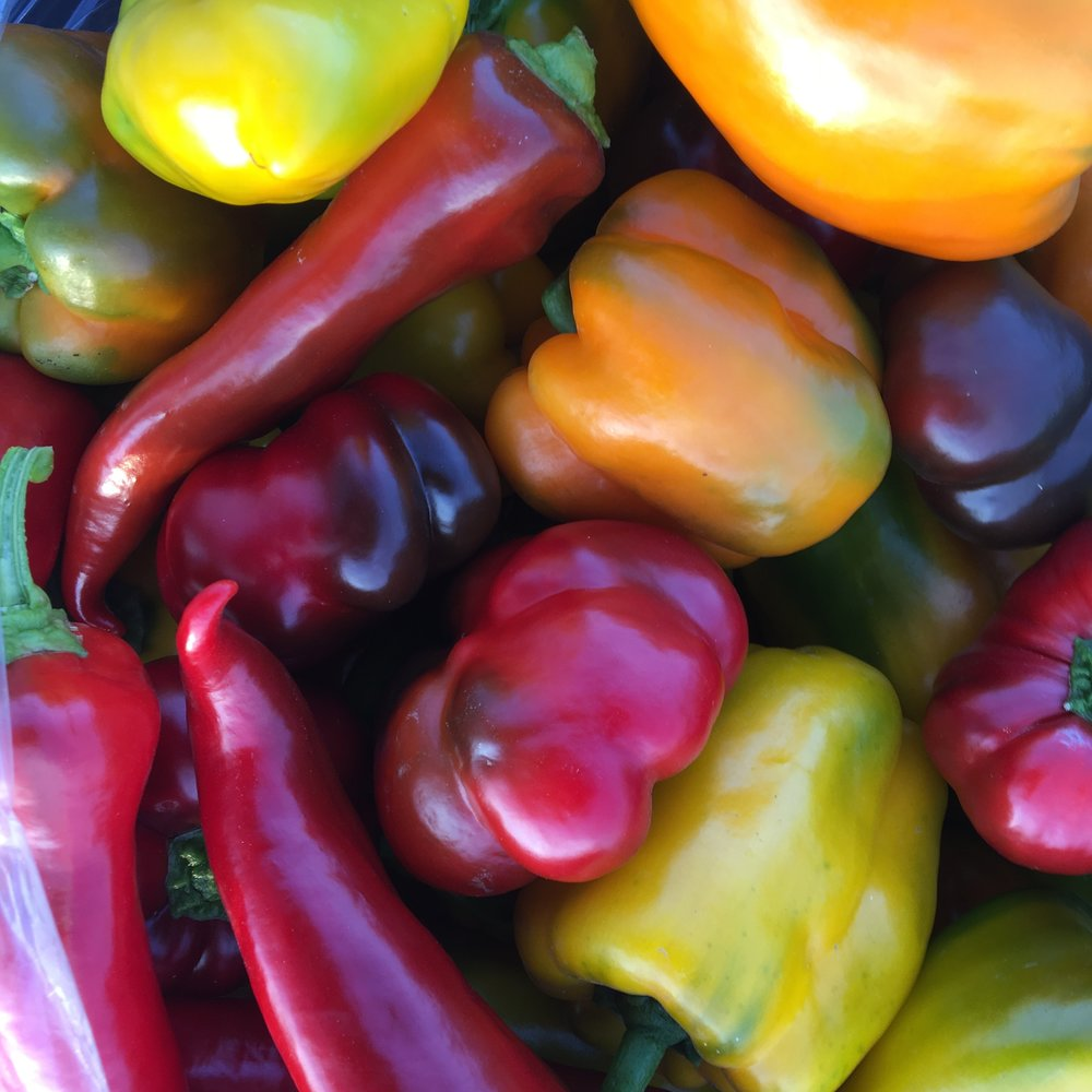 SWEET PEPPERS!