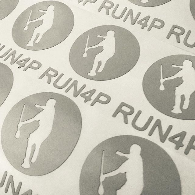 500 reflective decals cut for #run4p
