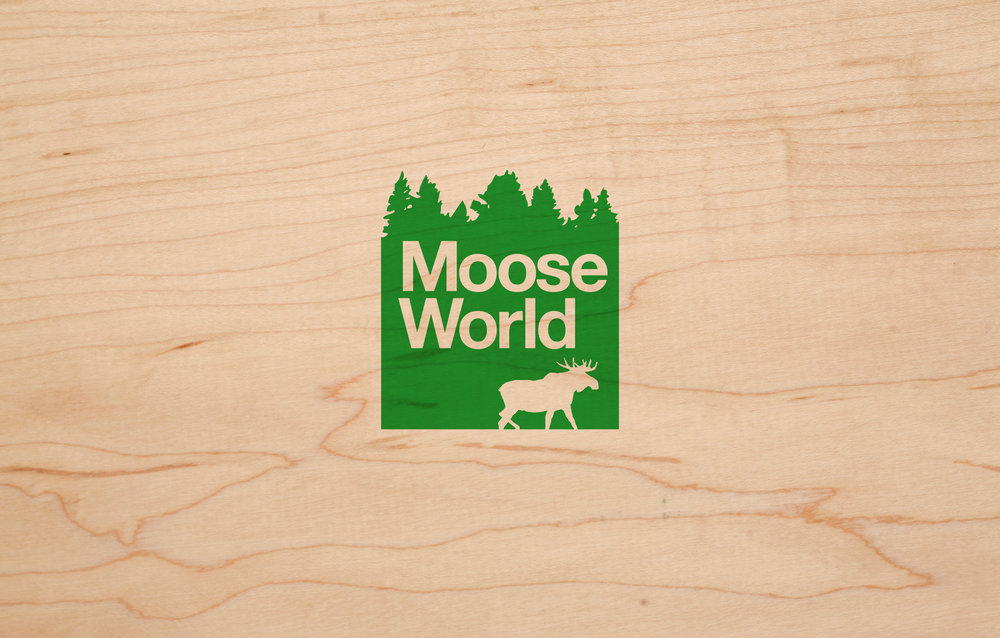 Moose World - brand identity.