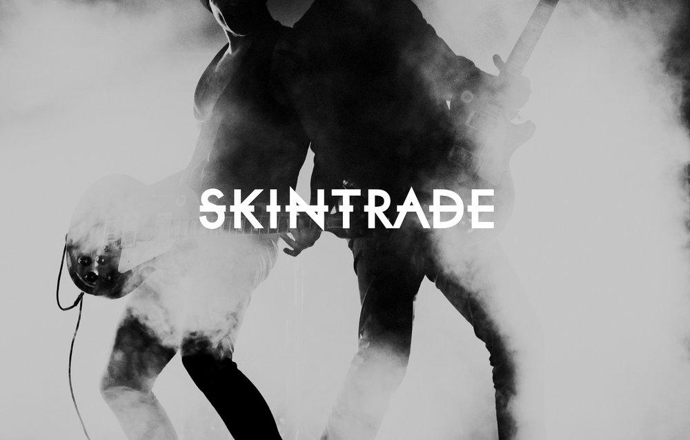 Skintrade - brand identity samt konvolut för print och digitalt.