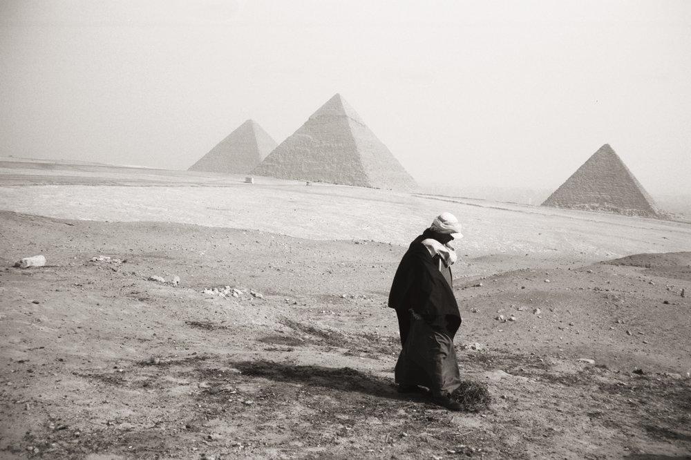 pyramids - egypt